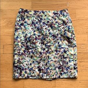 Anne Taylor / Colourful Pencil Skirt